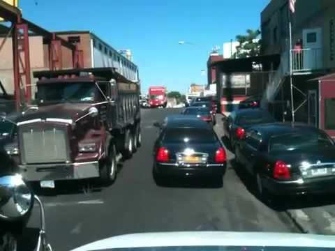 Rua apertada. Bronx