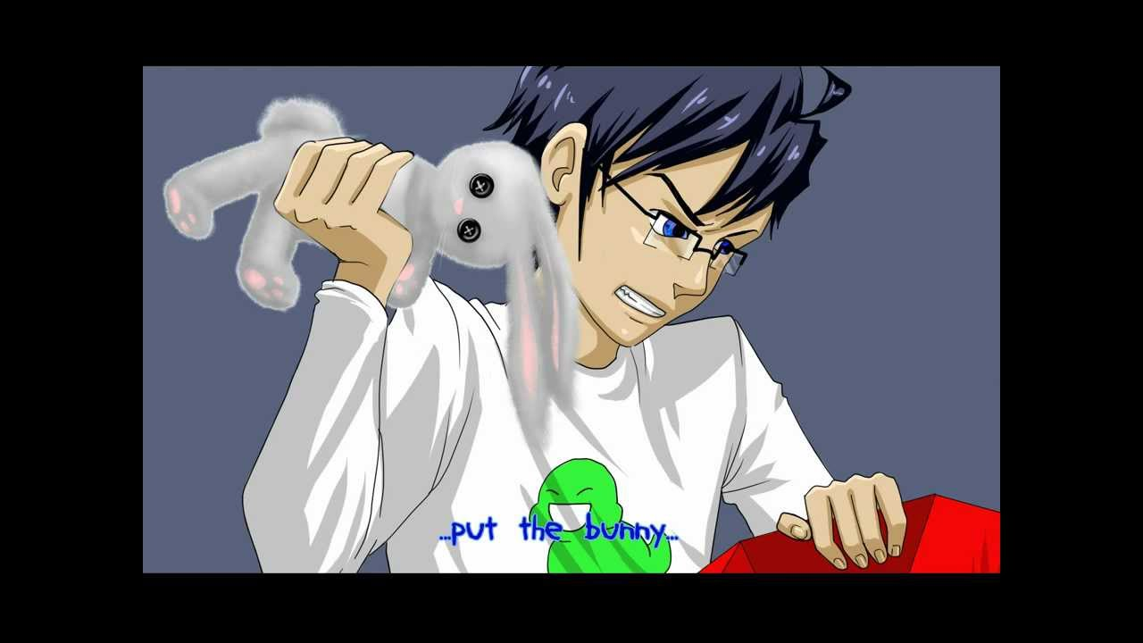 s  put the bunny back in the box  homestuck anime