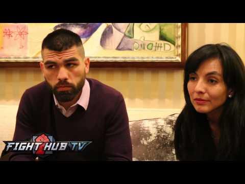 Canelo Alvarez vs. Alfredo Angulo: Angulo video scrum- Beef w/Canelo, incident story