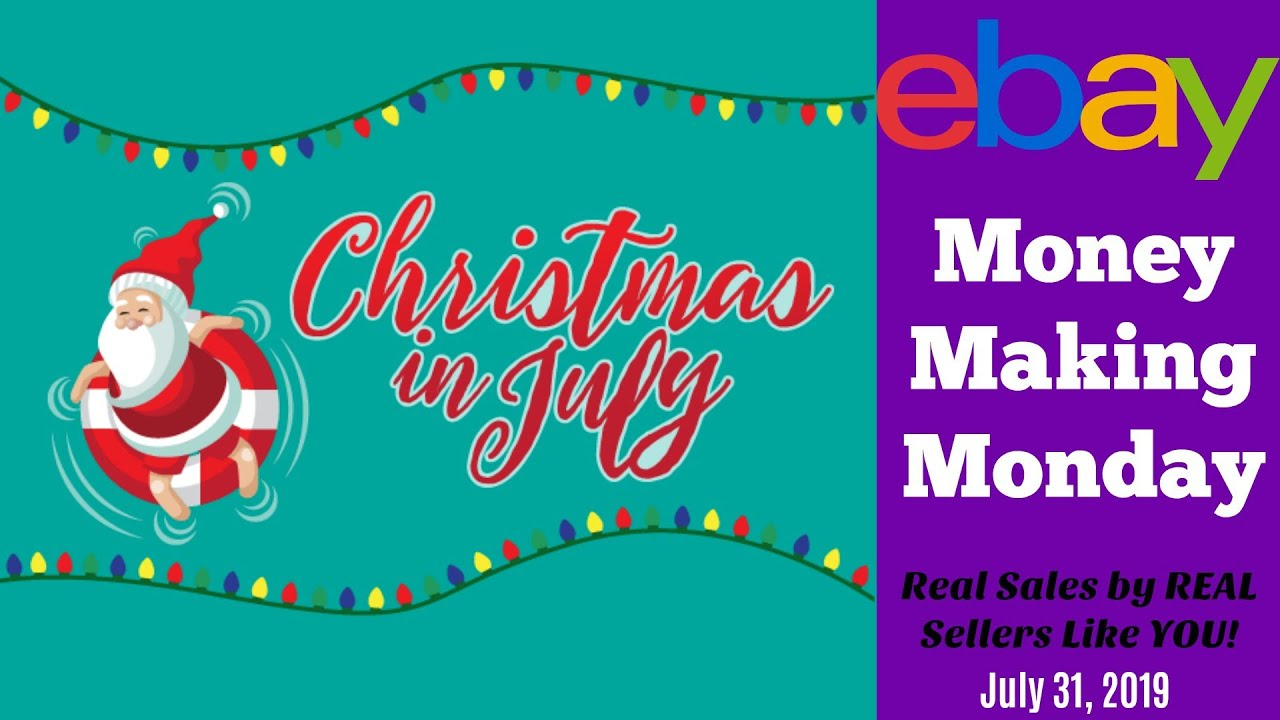 Christmas In July 2019 Images.Money Making Monday Christmas In July 2019