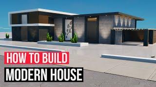 Building an EASY Modern House in Fortnite Creative