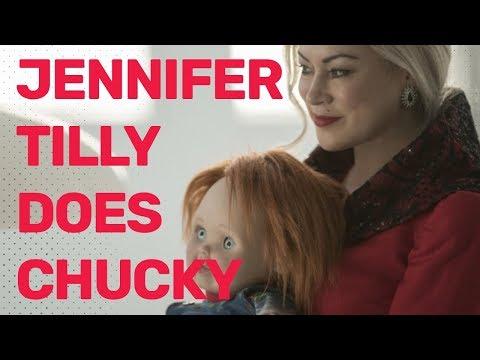Jennifer Tilly's 'Chucky' Impression is Hilarious