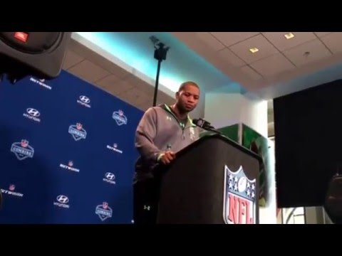 NFL Combine Update My Question To Kevin Dodd Clemson #NFLCombine