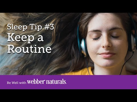 How to Sleep Better   Tip #3 Keep a Routine