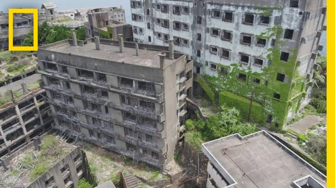 Explore 'Battleship Island,' Japan's Decaying Ghost Town | One Strange Rock