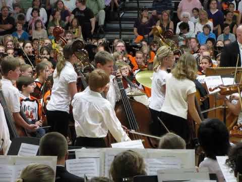 Moorhead Middle school orchestra 2010 1