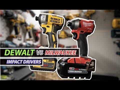 Milwaukee Vs Dewalt (Impact Drivers)