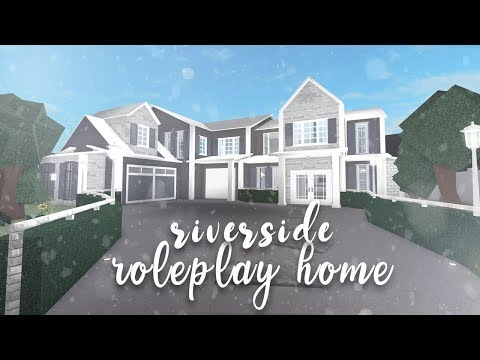 Anix Roblox Welcome To Bloxburg House Ideas Roblox Bloxburg Riverside Family Home Speedbuild Youtube