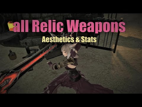 all-new-485-relic-weapons---stats-&-aesthetics-(ffxiv:-patch-5.25)