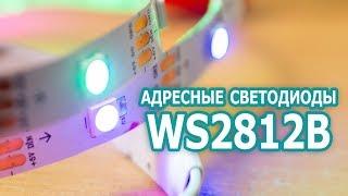 Как подключить адресные светодиоды WS2812B к Arduino