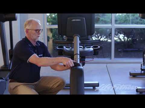 Life Fitness Integrity Recumbent Bike Service Video