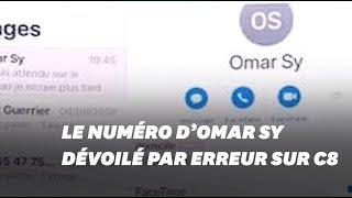 Cyril Hanouna dévoile par erreur le numéro d'Omar Sy