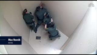 Graphic video shows California jail beating