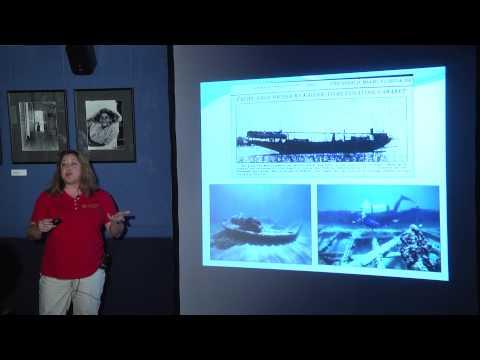 Nat Museum Speaker Series Ship Wrecks Oct 2014 Della Scott Ireton