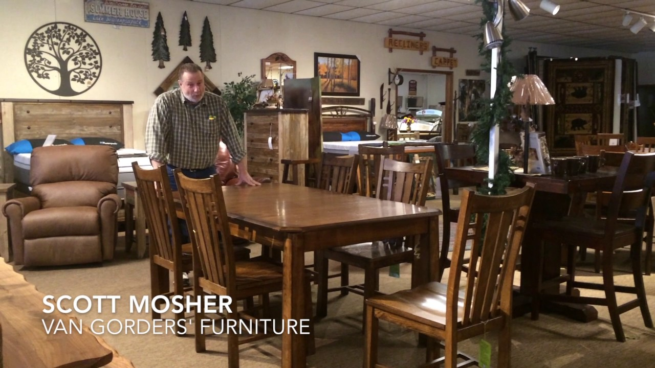 Expandable Dining Room Table Demonstration - YouTube