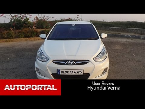 Hyundai Verna User Review - 'stylish car' - Auto Portal