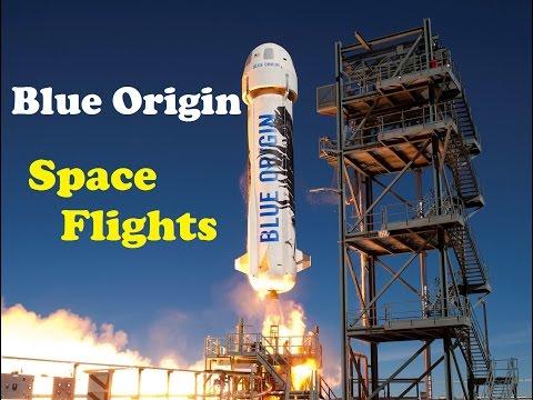 Blue Origin's Story - New Shepard sub-orbital Space Flights