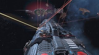 X4: Foundations 2.0 - Taranis Mk2 - Battleship mod