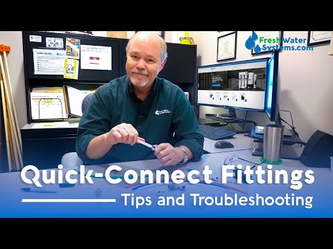 How To Fix Leaking Quick-Connect Fittings