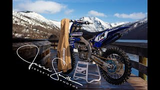 Epic photoshoot of a YZ450!