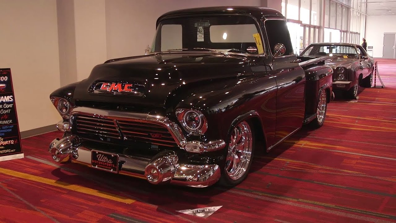 SEMA 2017: LS3-Powered 1957 GMC 100 Built From the Ground ...