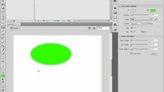 Построение эллипсов в Adobe Flash CS4 (11/46)