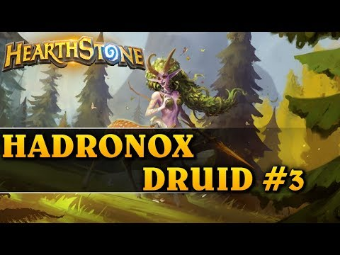 ALE TEN DRAW... - HADRONOX DRUID #3 - Hearthstone Decks std