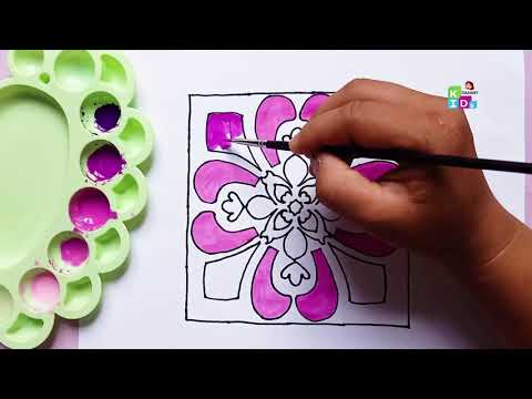 how-to-draw-flora-pink-decoration-backround