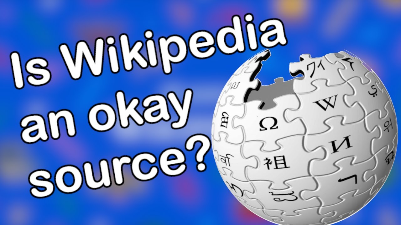 Using Wikipedia as a source