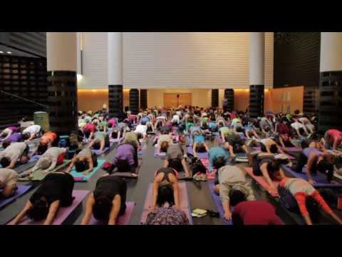Art of Yoga event at SFMOMA