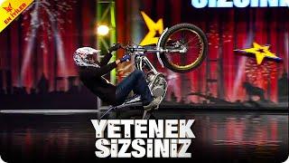 Topraktan Motor Show 🏍️  Yetenek Sizsiniz Türkiye