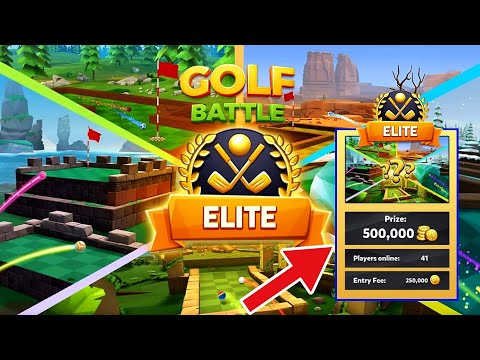 DESTROYING THE ELITE PLAYERS IN GOLF BATTLE 《OPENING CHAMPIONS AND PRO BOX》