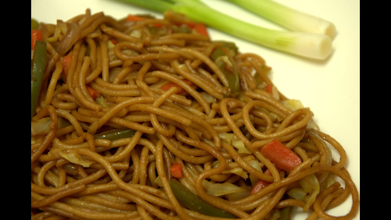 Indian style spicy vegetable chowmein youtube forumfinder Images