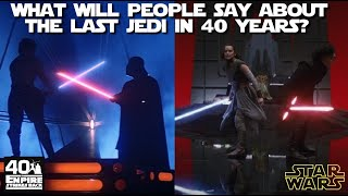 Could The last Jedi really be the next Empire Strikes Back?  Will the opinion of 'haters' change?