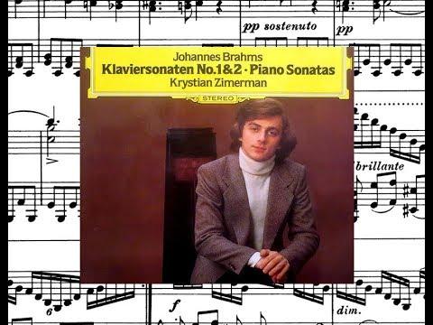 Brahms / Krystian Zimerman, 1980: Klaviersonate Nr. 1 C-dur, Op. 1