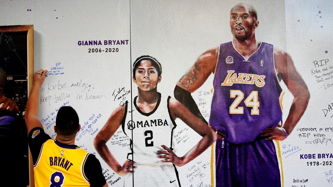 Forever 24 Kobe Bryant Los Angeles Lakers MUSH T Shirt Bianca