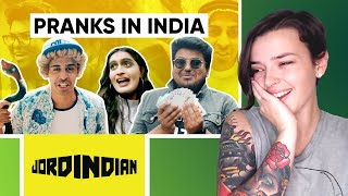 Pranks In India | Why Pranks Don't Work In India | Jordindian | REACTION! | Indi Rossi