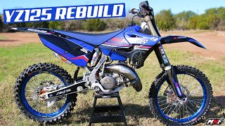 FULL 2 Stroke Rebuild Time Lapse • 2007 Yamaha YZ125 • WIN THIS DIRT BIKE!!