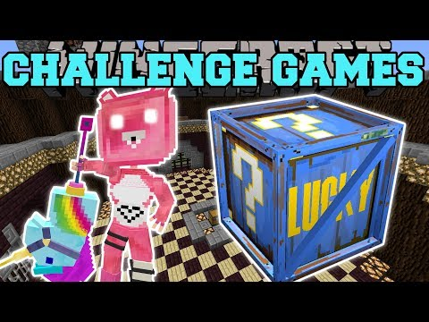 Minecraft: CUDDLE TEAM LEADER CHALLENGE GAMES - Lucky Block Mod - Modded Mini-Game
