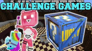 Minecraft: CUDDLE TEAM LEADER CHALLENGE GAMES - Lucky Block Mod - Modded Mini-Game