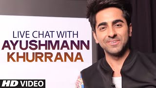 LIVE CHAT with Ayushmann Khurrana | T-Series