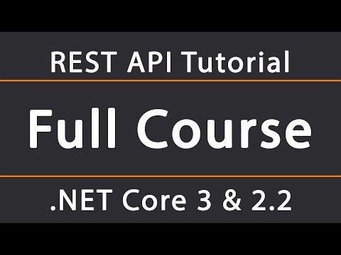 ASP.NET Core 3 & 2.2 REST API Tutorial 1 - Setup And Swagger Configuration