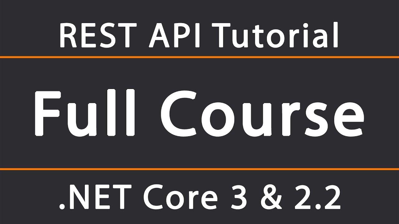 ASP NET Core 3 & 2 2 REST API Tutorial 1 - Setup and Swagger configuration