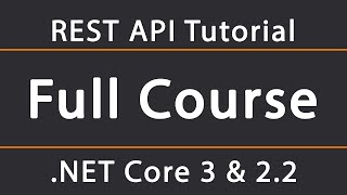 ASP.NET Core 3 & 2.2 REST API Tutorial 1 - Setup and Swagger configuration