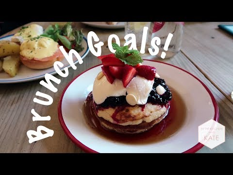 Best Pancakes EVER | Barcelona Day 2  - In The Kitchen With Kate