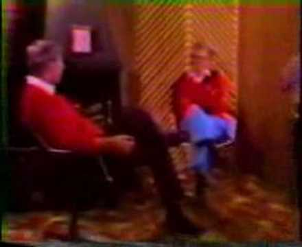 """Bob Knight & the Purdue Mascot"""