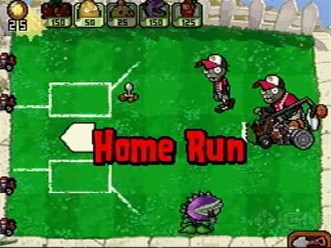 Plants vs Zombies: Home Run Derby Gameplay