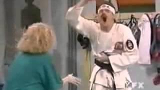 Джим Керри  Чеченский перевод прикол обучение каратэ самооборона
