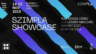 LIVE!  Szimpla Showcase - BUSH 2019