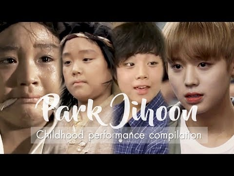 Wanna One's Park Jihoon #박지훈 From child actor to K-Pop Idol